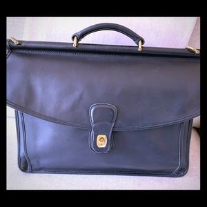 Coach Luxury Beekman Leather Briefcase Bag